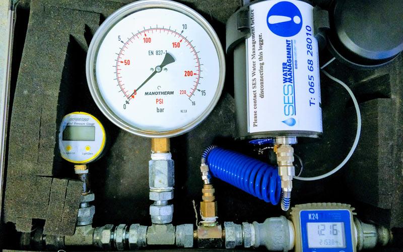 Pipeline pressure testing ses water water management for Water main pipe material
